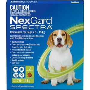 NexGard SPECTRA Medium Dog 3 Pack