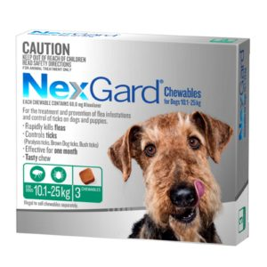 Nexgard Medium Dog 3 Pack