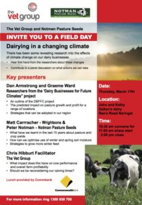 Dairying in a Changing Climate
