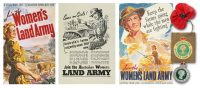 ads for australian women's land army