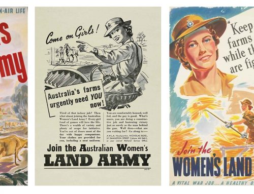 The Australian Women's Land Army: ensuring food security in World War II
